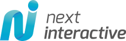 next interactive Logo